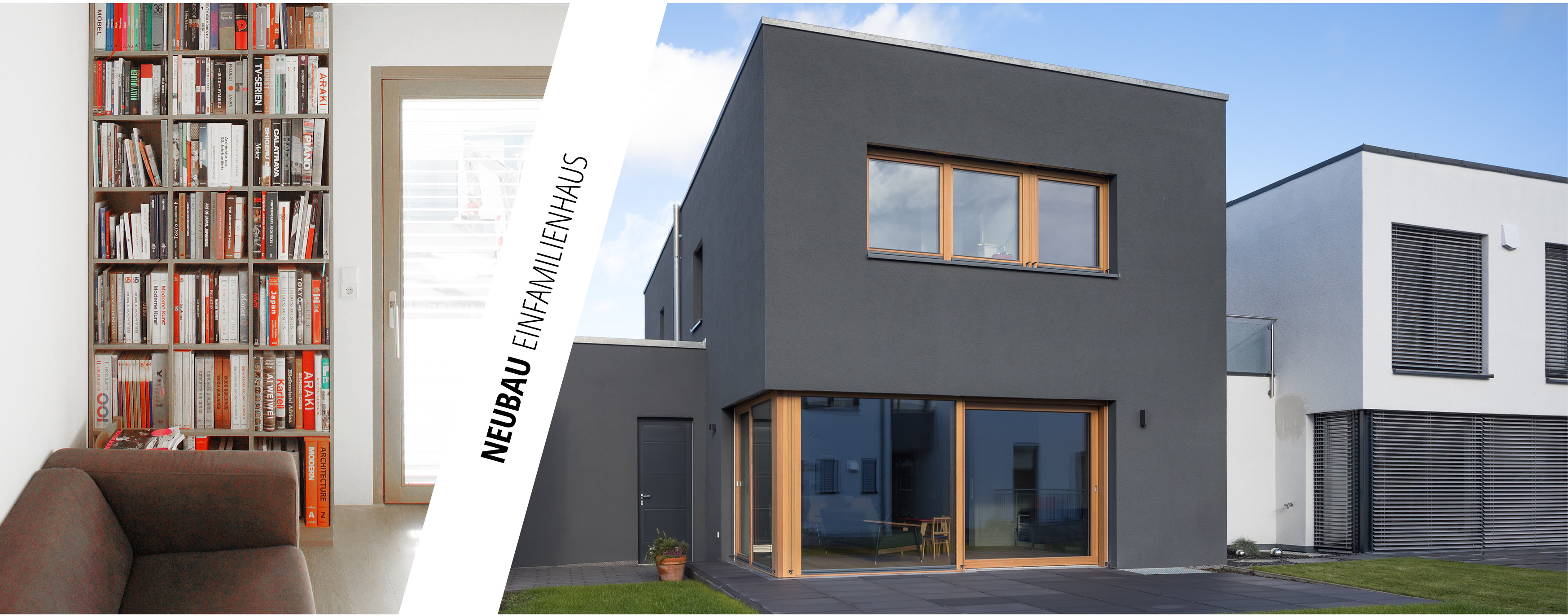 Architekten Ulm house in black einfamilienhaus in neu ulm rc studio carnevale